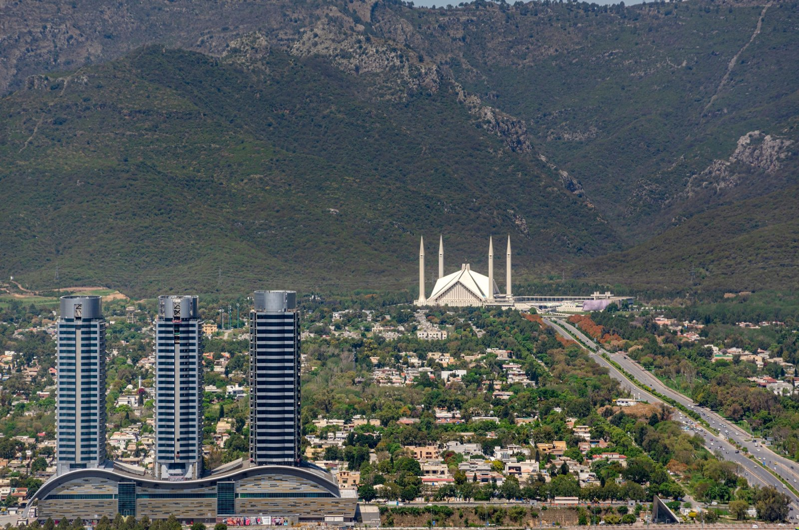 General view of Pakistan's capital Islamabad. (Shutterstock Photo)
