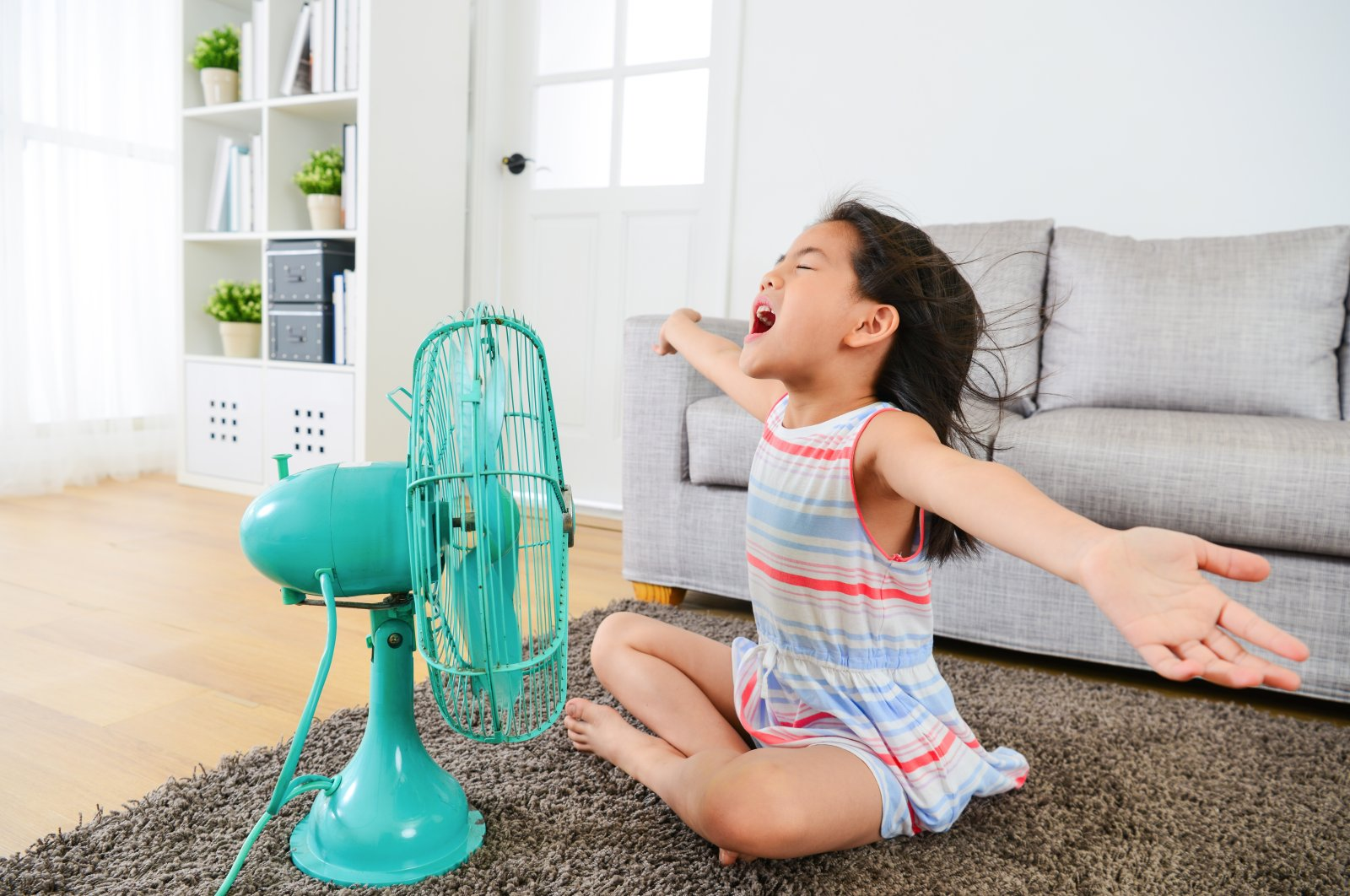 Timing is everything when it comes to opening doors and windows on hot days. (Shutterstock Photo)