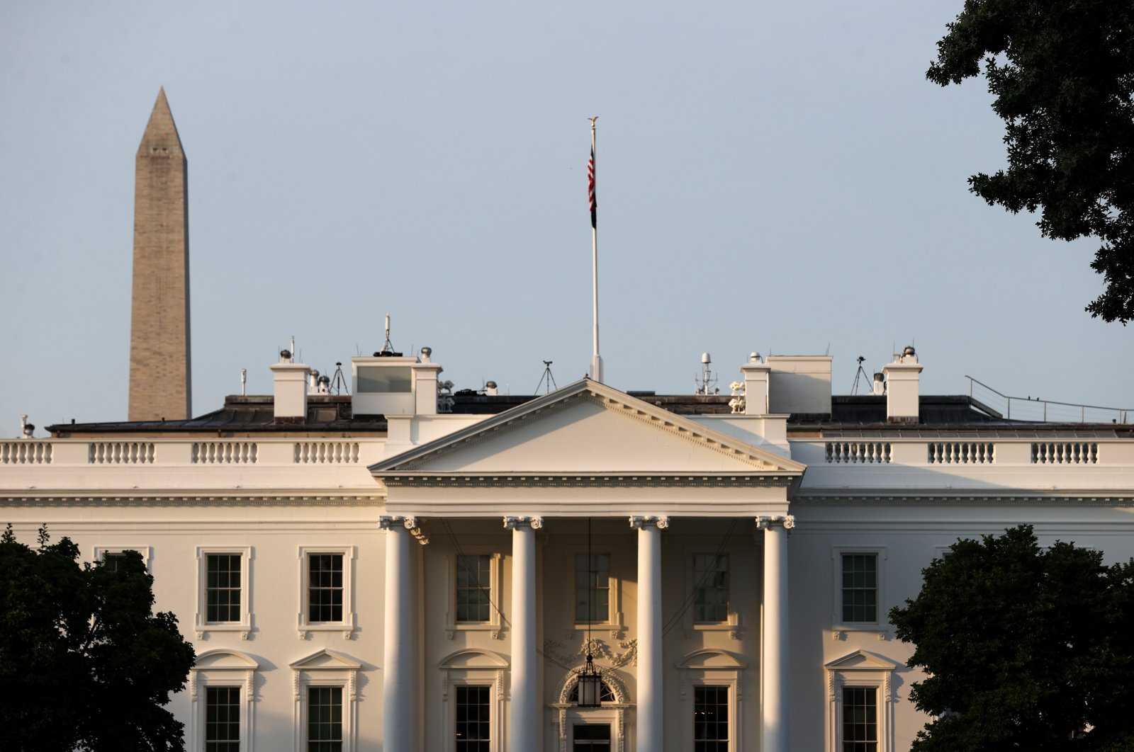 A general view of the White House in Washington, D.C., U.S., July 15, 2021. (Reuters Photo)