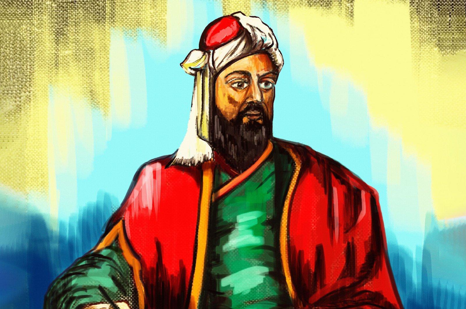 A painting depicts the likeness of Nizam al-Mulk, 11-th centurystatesman and vizier of theSeljuk Empire. (Shutterstock Photo)