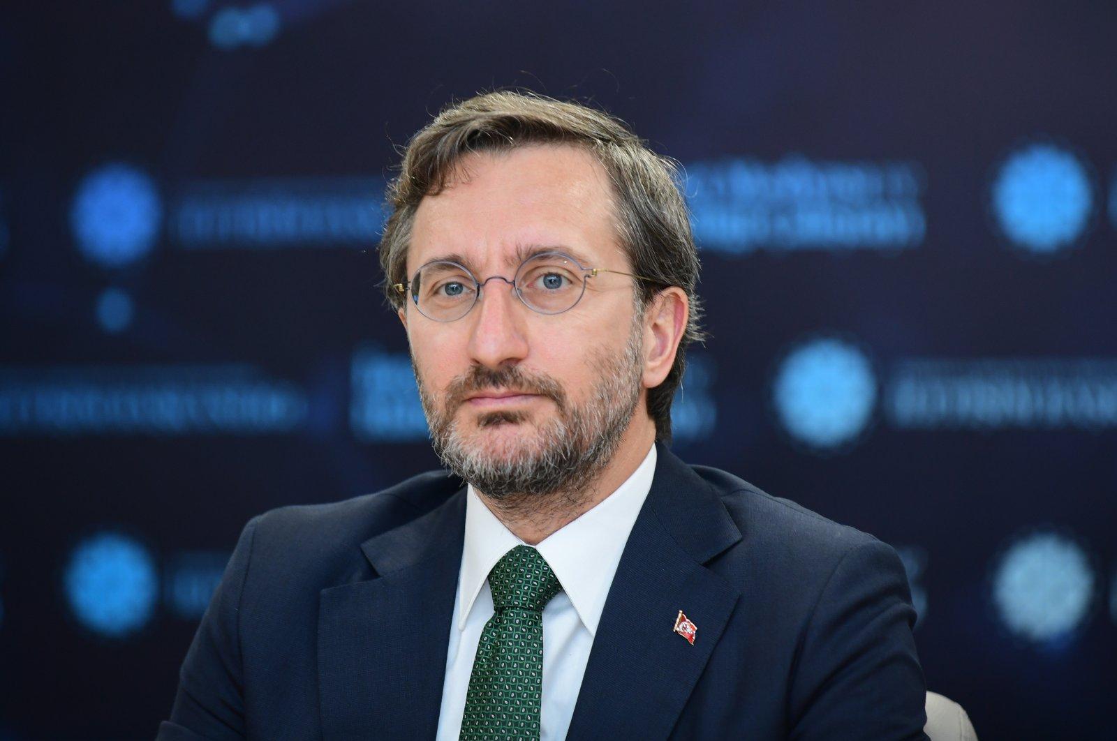 Presidential Communications Director Fahrettin Altun, June 29, 2021. (AA Photo)
