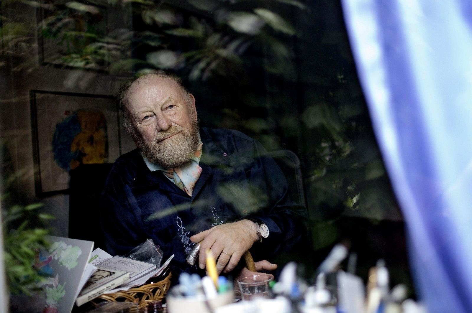 Danish cartoonist Kurt Westergaard is seen at his home near Aarhus, Denmark, June 6, 2010. (AP Photo)