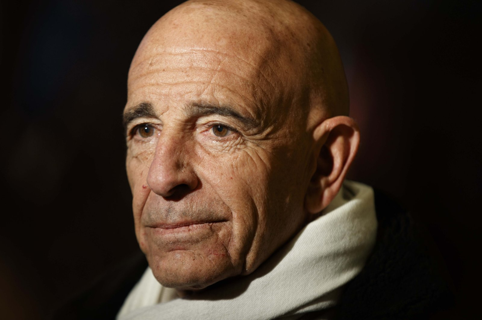 Tom Barrack before a meeting with President-elect Donald Trump speaking in New York, U.S., Jan. 10, 2017. (AP File Photo)
