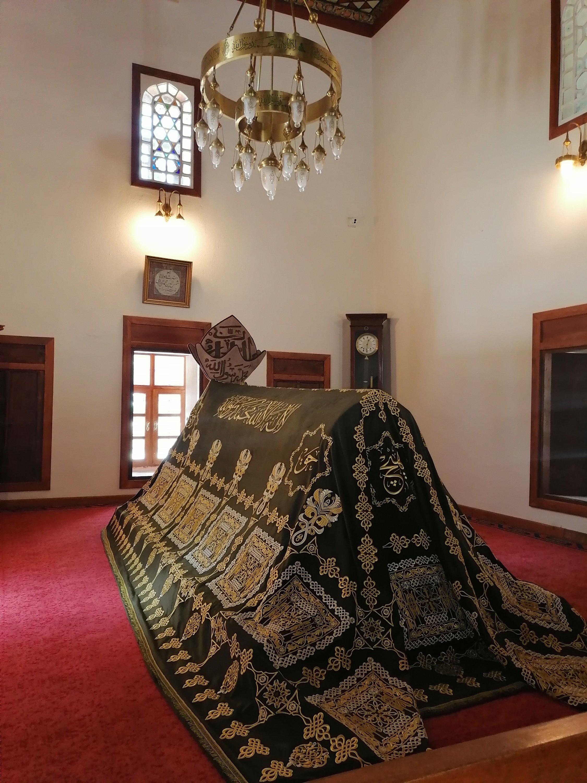 Tomb of Shams Tabrizi. (Aiza Azam for Daily Sabah)