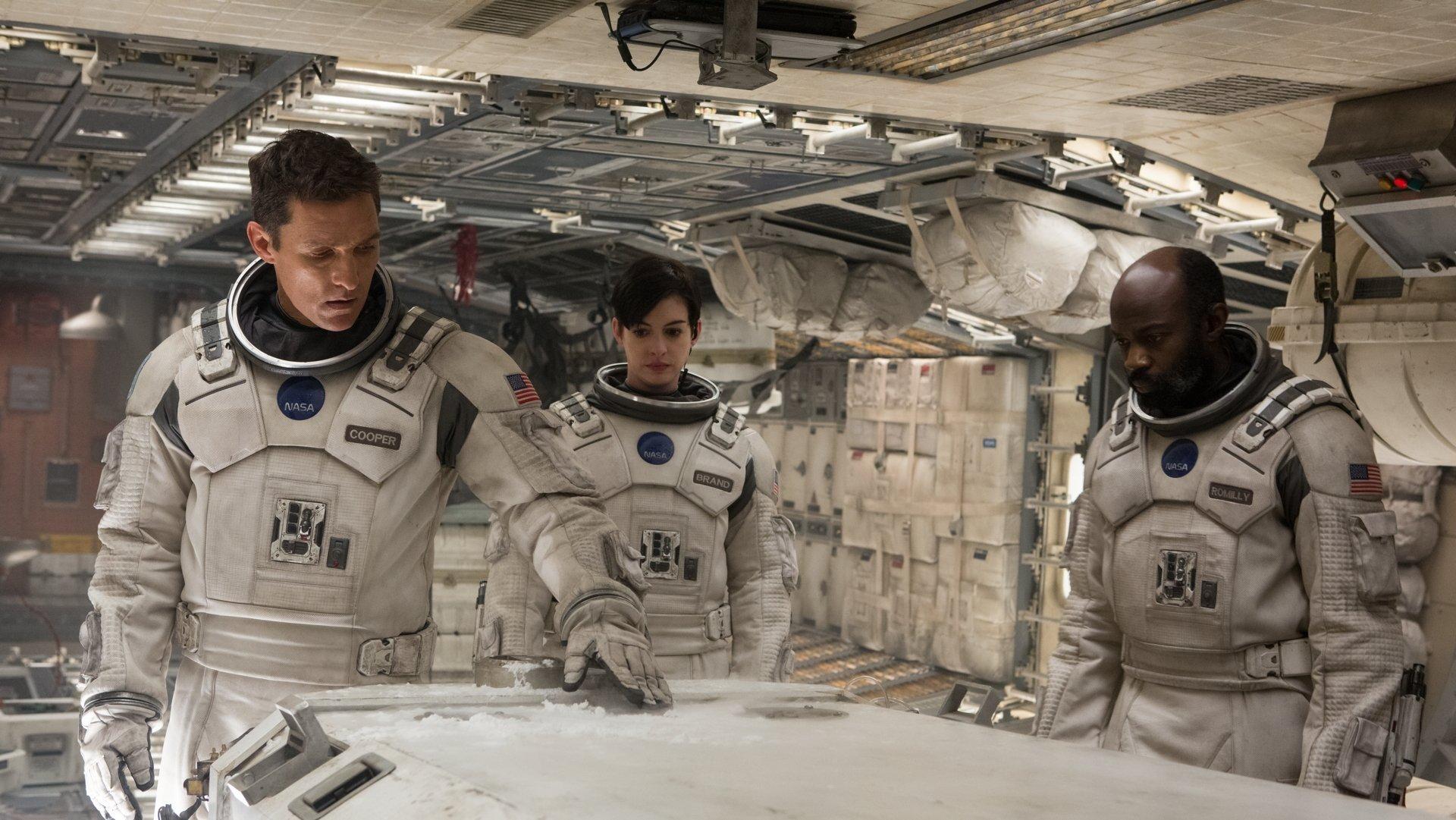 A still shot from 'Interstellar.'