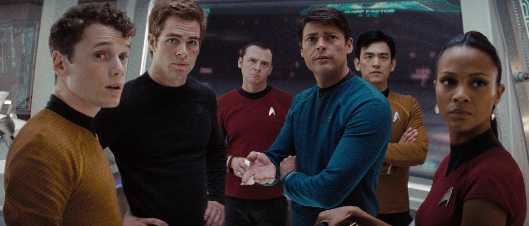 A still shot from 'Star Trek' by J.J. Abrams.