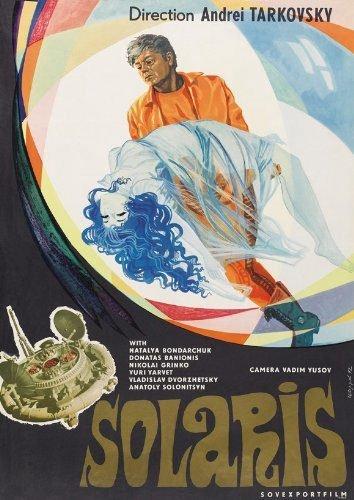 A poster of 'Solaris' by Andrei Tarkovsky.