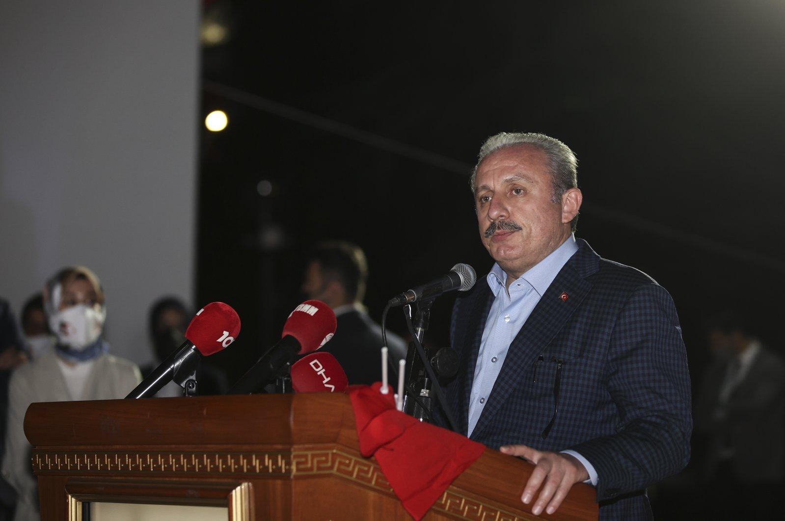 Parliament Speaker Mustafa Şentop. (AA Photo)