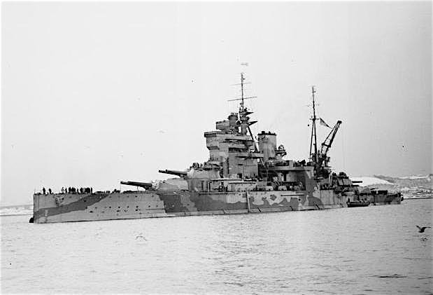 The only new ship of the Allied forces involved in the Gallipoli Campaign was HMS Queen Elizabeth.