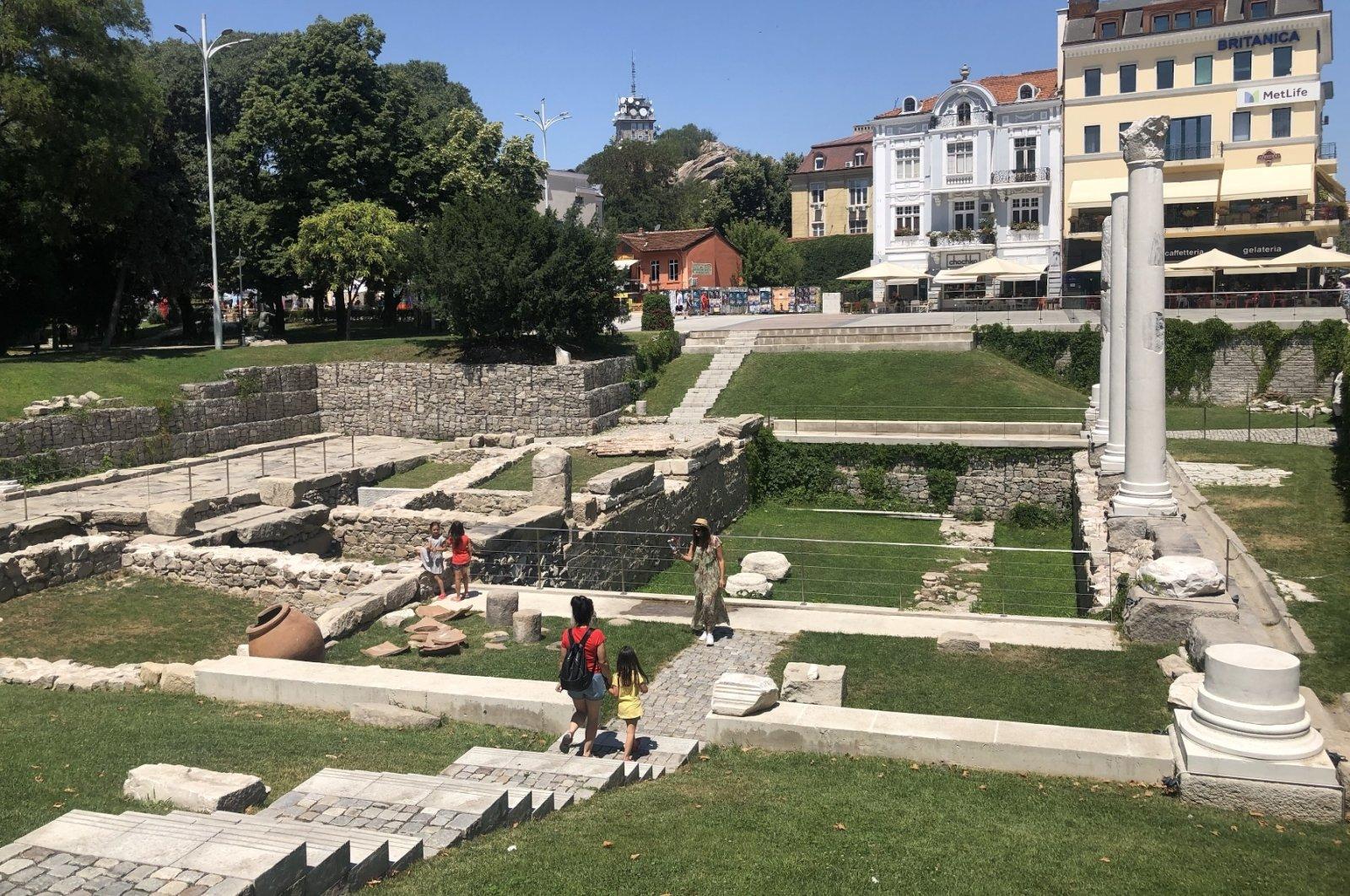 The ruins in Plovdiv, Bulgaria. (Photos by Emre Başaran)