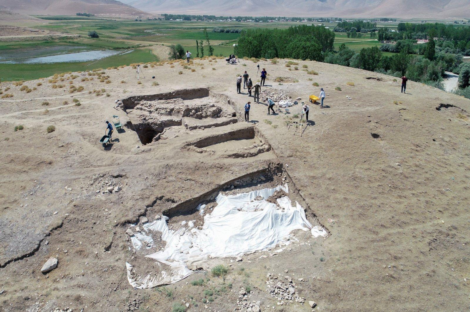 A general view from Iremir Mound, Van, eastern Turkey, June 26, 2021. (AA Photo)