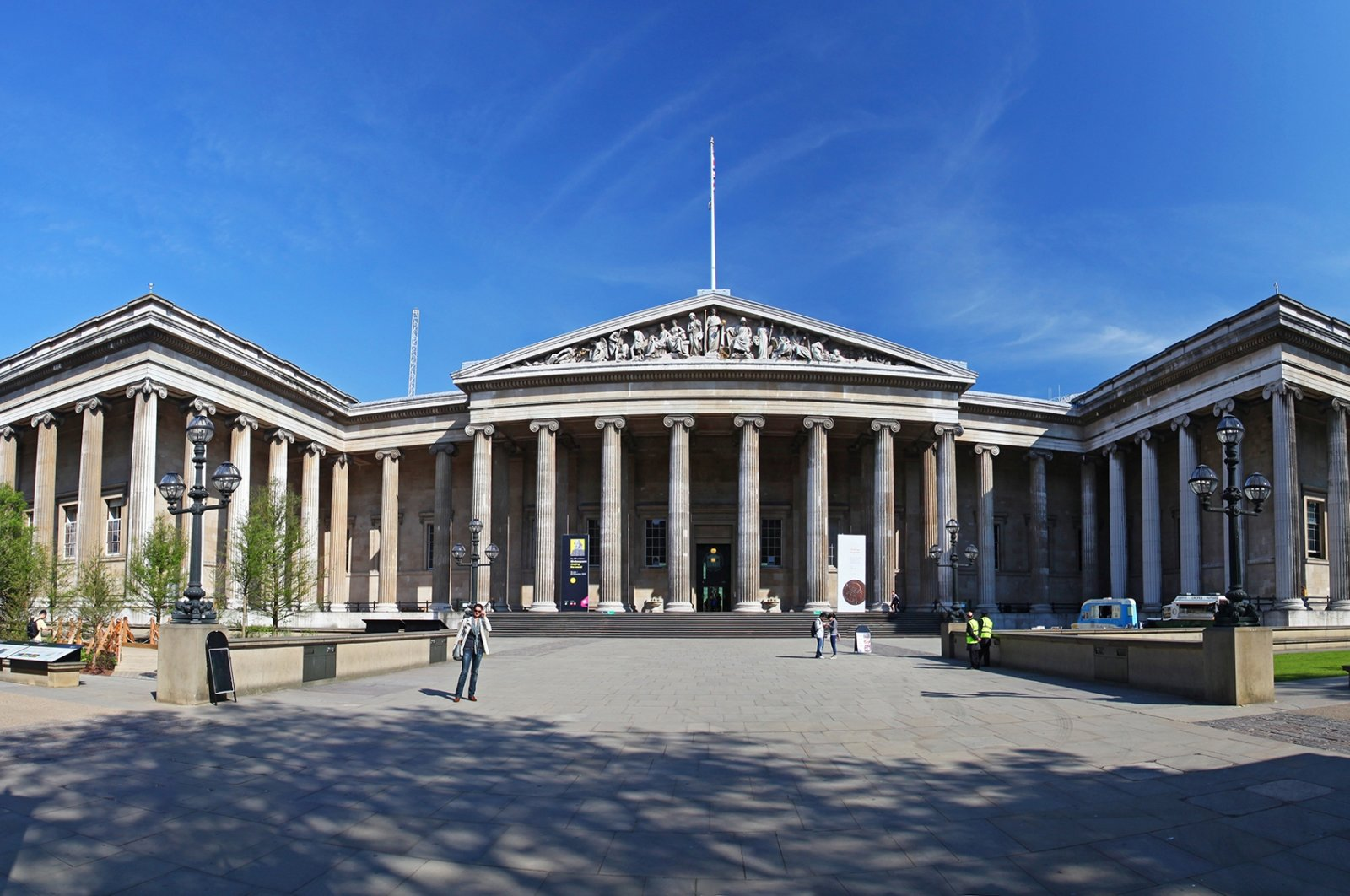 The British Museum in London, England, May 5, 2011. (Shutterstock Photo)