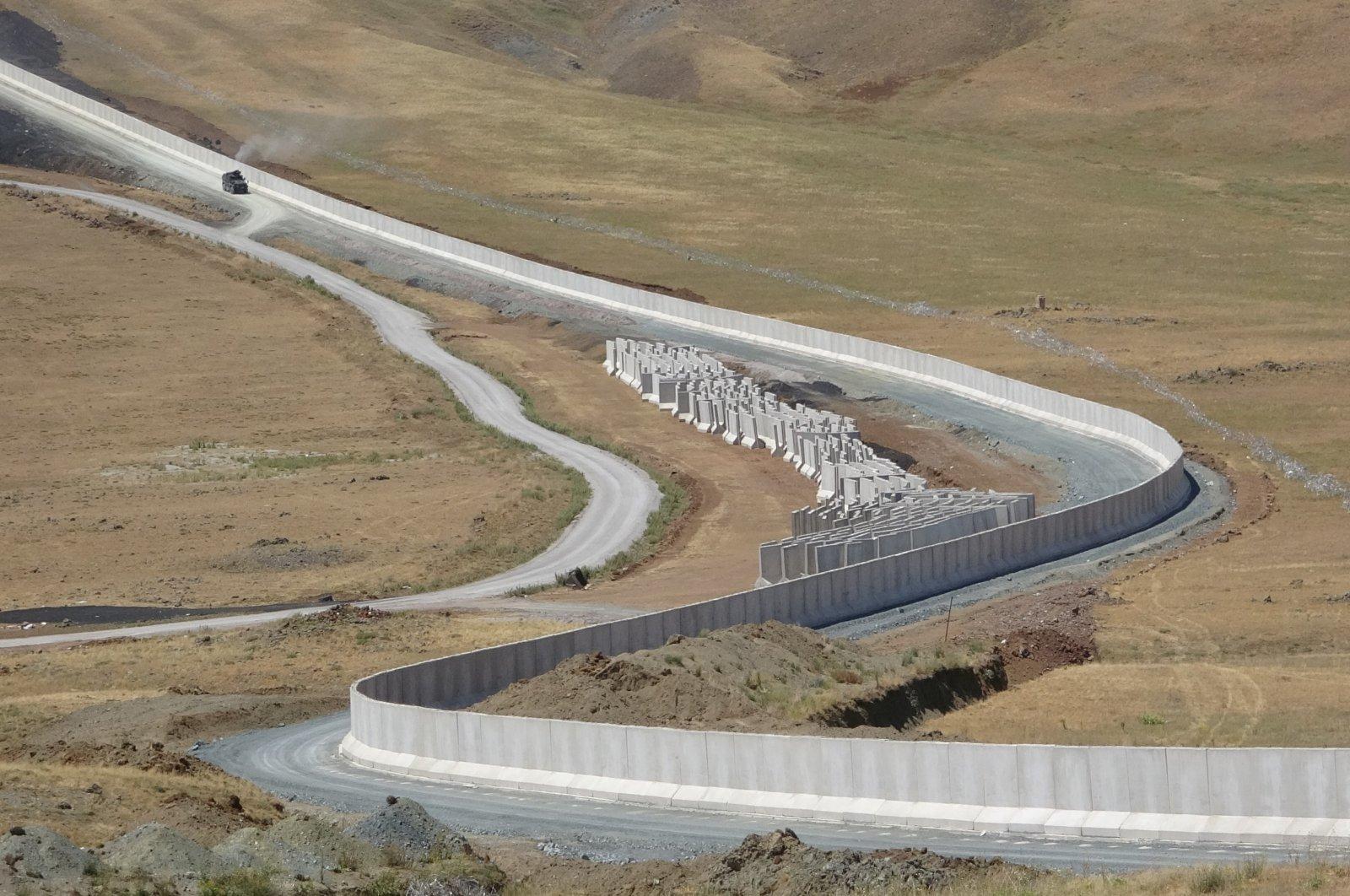 A view from Turkey's eastern border with Iran, Van, Turkey, July 27, 2021. (IHA Photo)