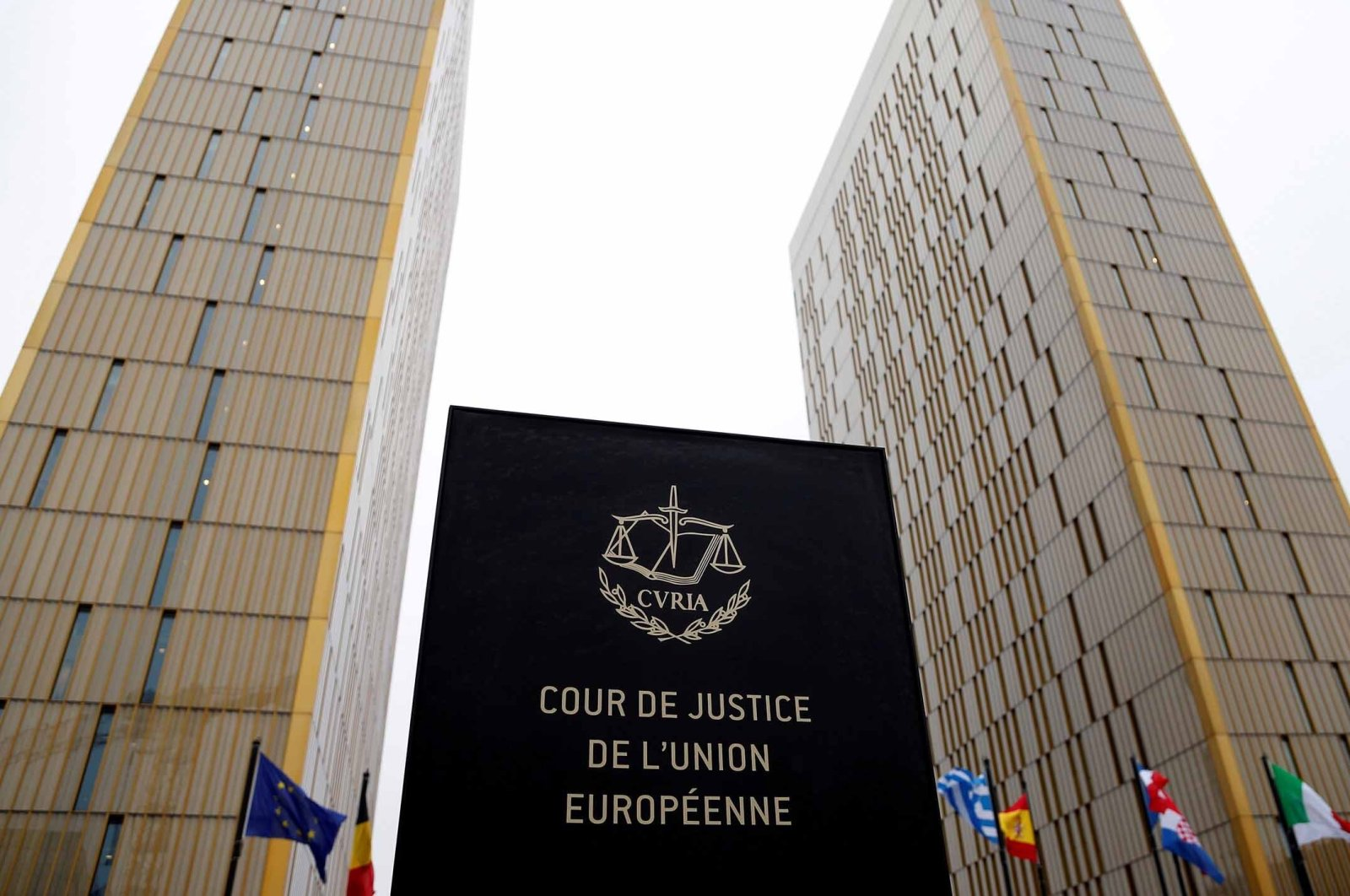 The towers of the Court of Justice of the European Union are seen in Luxembourg, January 26, 2017. (Reuters File Photo)