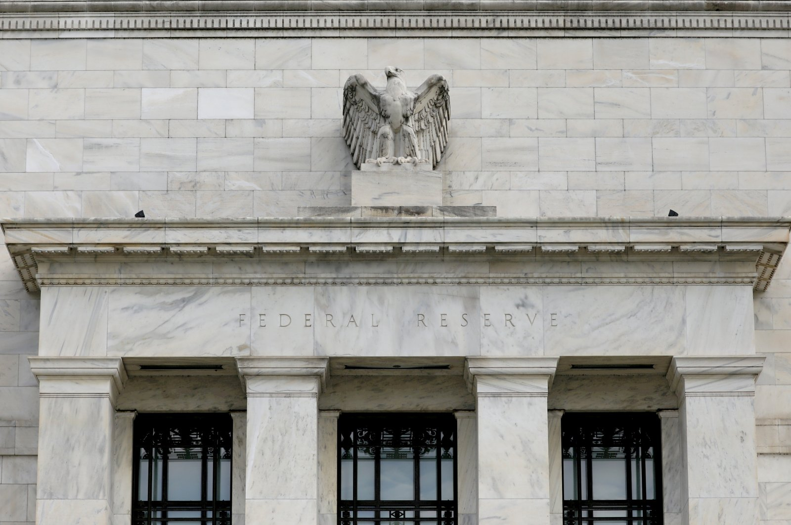 The Federal Reserve building is pictured in Washington, D.C., U.S., Aug. 22, 2018. (Reuters Photo)