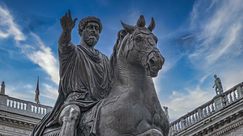 Statue of Marcus Aurelius in Capitoline Hill, Rome, Italy. (Shutterstock Photo)