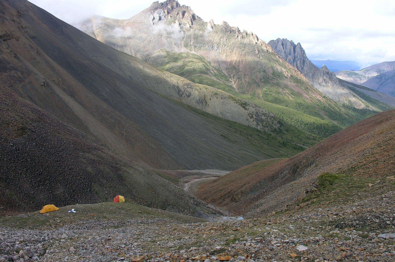 A field location in Northwest Territories, Canada. (Laurentian University via AP)