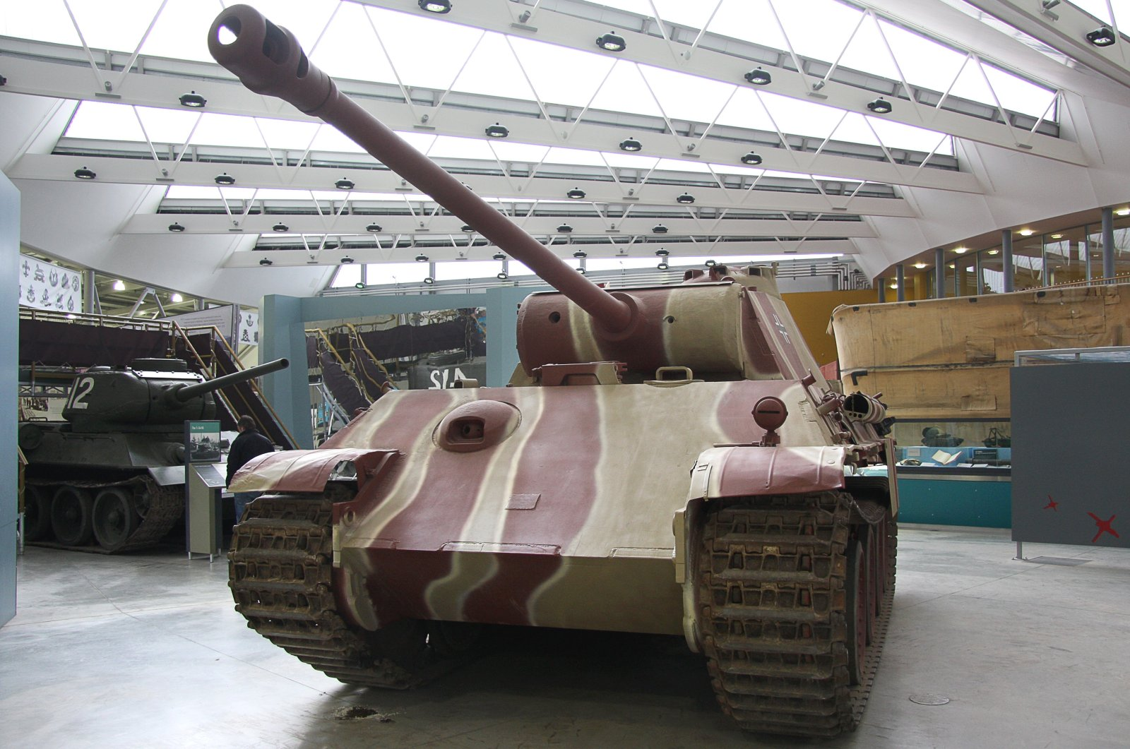 Panzerkampfwagen V Panther tank on display at the Bovington Tank Museum in Bovington, Dorset, U.K., July 7, 2012. (Shutterstock photo)
