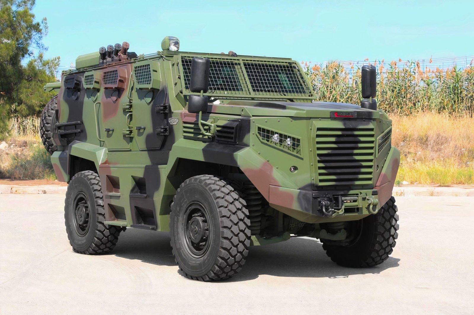 Katmerciler's Hızır combat vehicle seen on July 28, 2021. (Courtesy of Katmerciler)