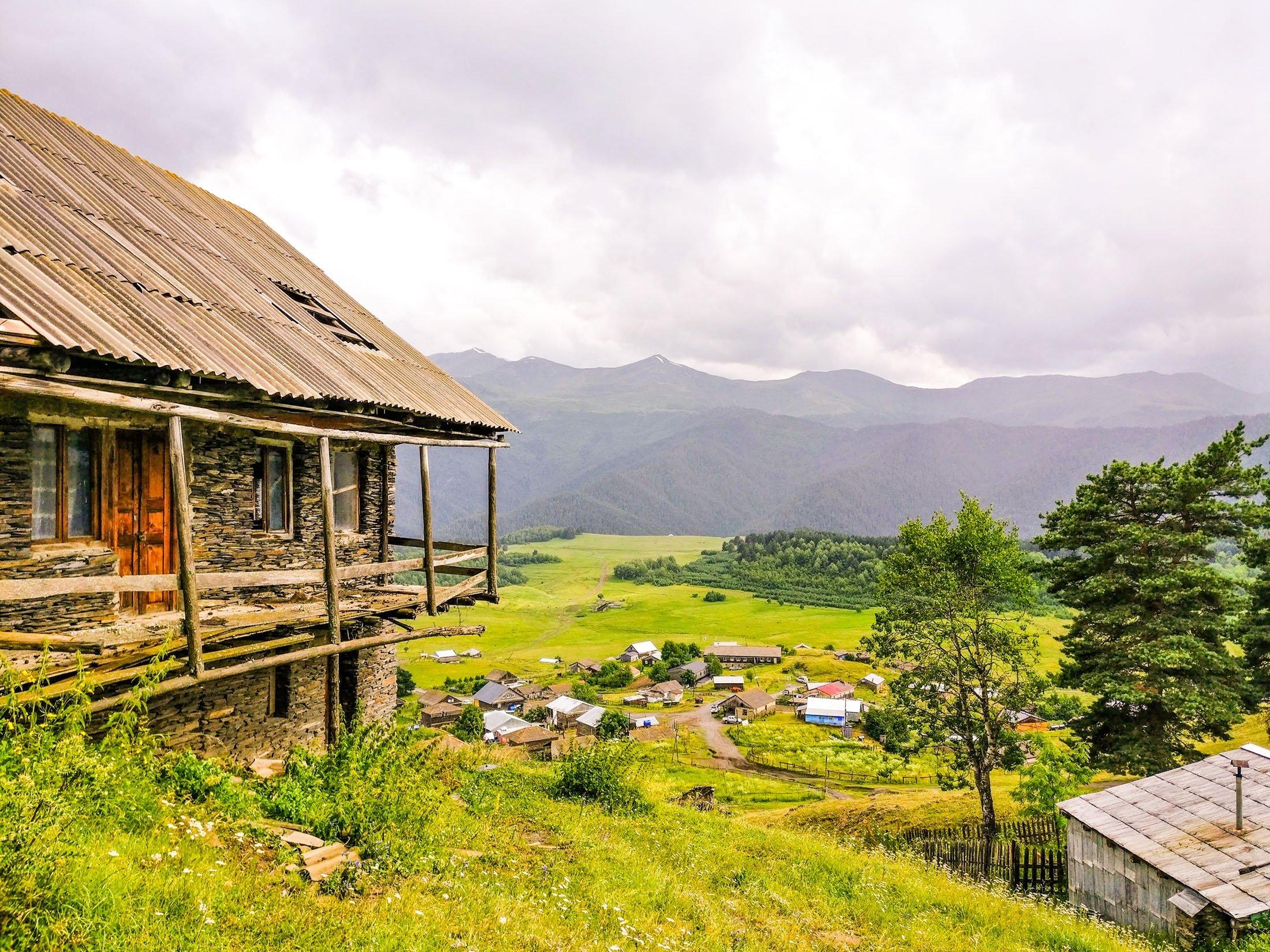 General view of Tusheti mountains. (Shutterstock Photo)