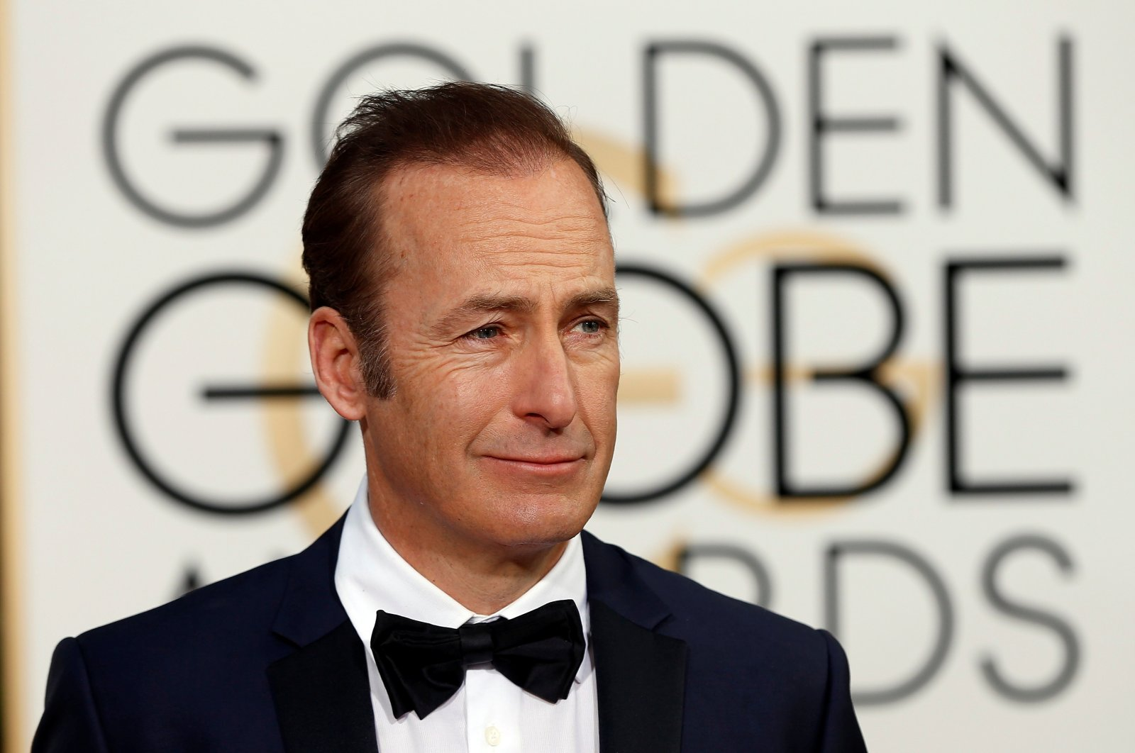Actor Bob Odenkirk arrives at the 73rd Golden Globe Awards in Beverly Hills, California, U.S., Jan. 10, 2016. (Reuters Photo)