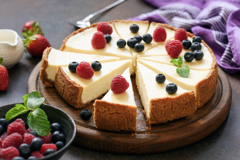 Classic New York cheesecake. (Shutterstock Photo)