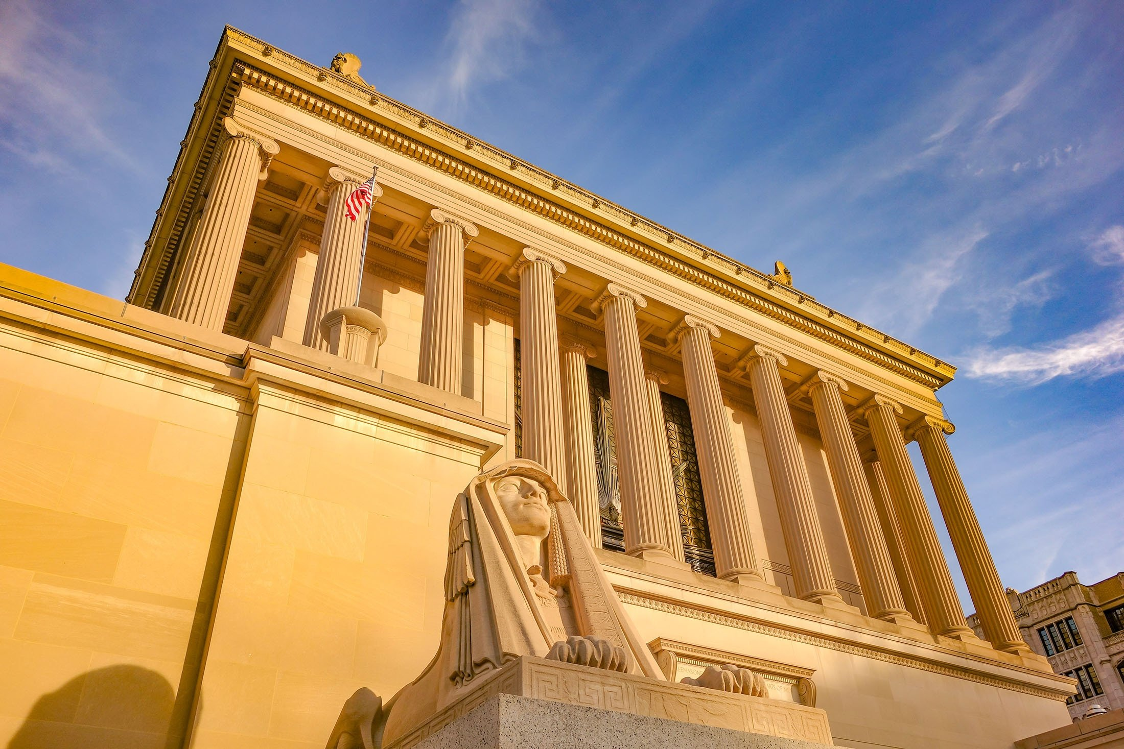 The House of the Temple,a Masonic temple, can be seen inWashington, U.S. (Shutterstock Photo)