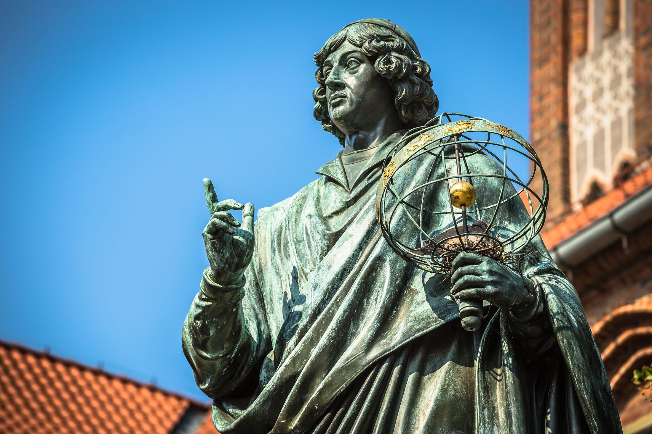 A monument of great Renaissance astronomerNicolaus Copernicus can be seen in Torun, Poland. (Shutterstock Photo)