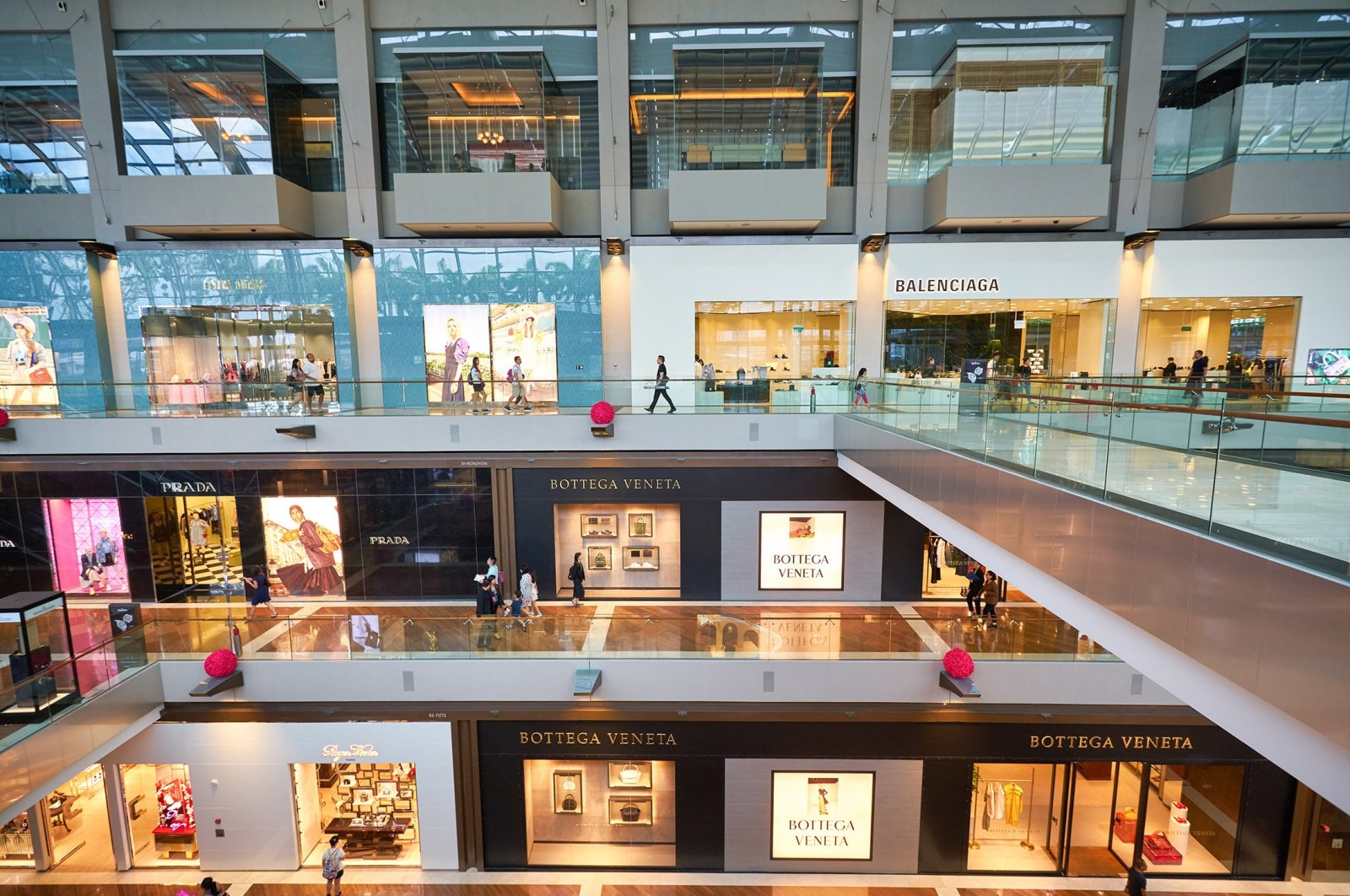 An interior of a shopping mall in Singapore, Jan. 20, 2020. (Shutterstock Photo)