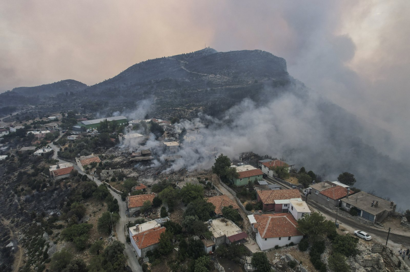 Countries pledge solidarity with Turkey over deadly fires