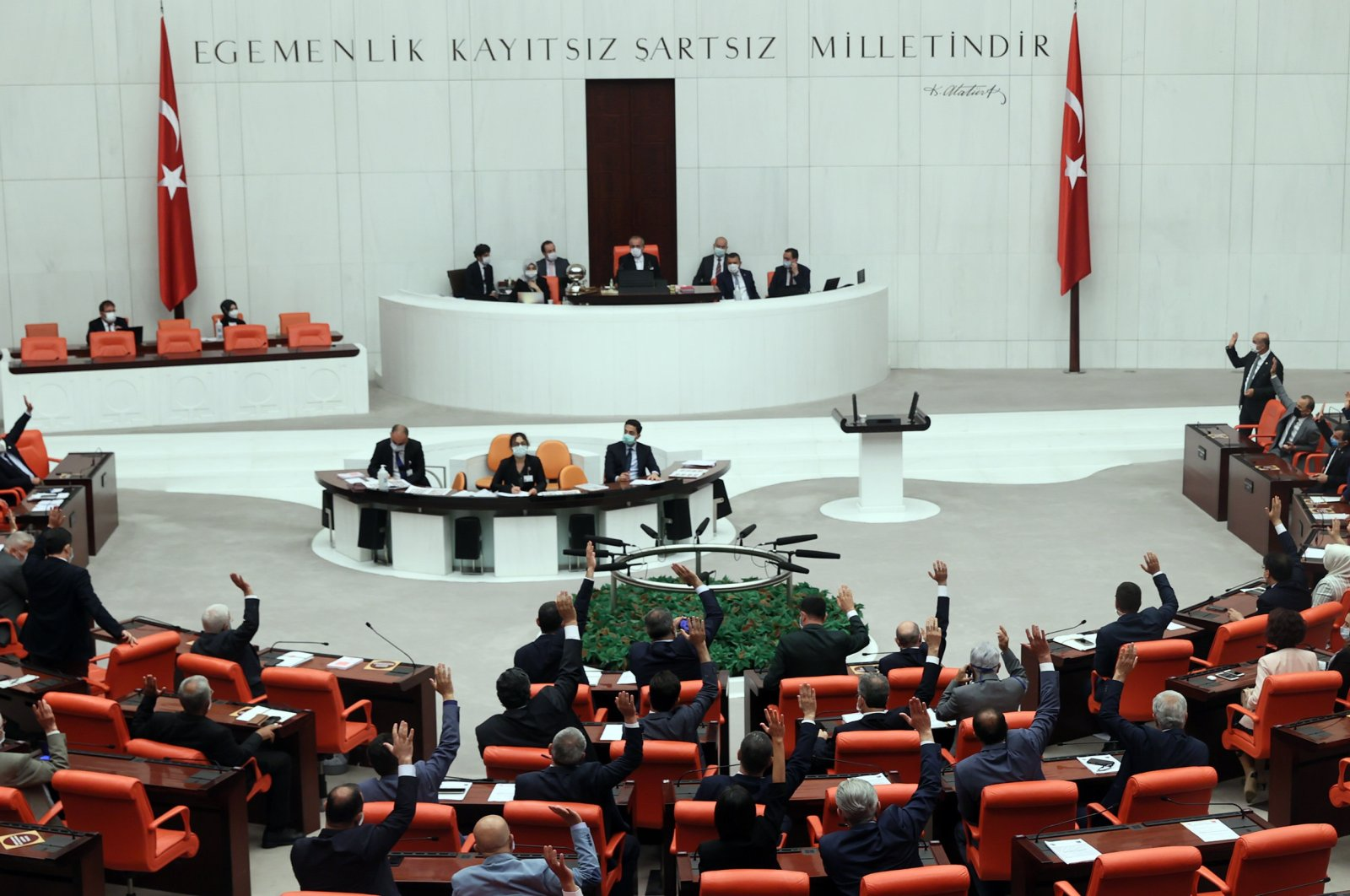 General Assembly of the Turkish Parliament, July 15, 2021. (AA File Photo)