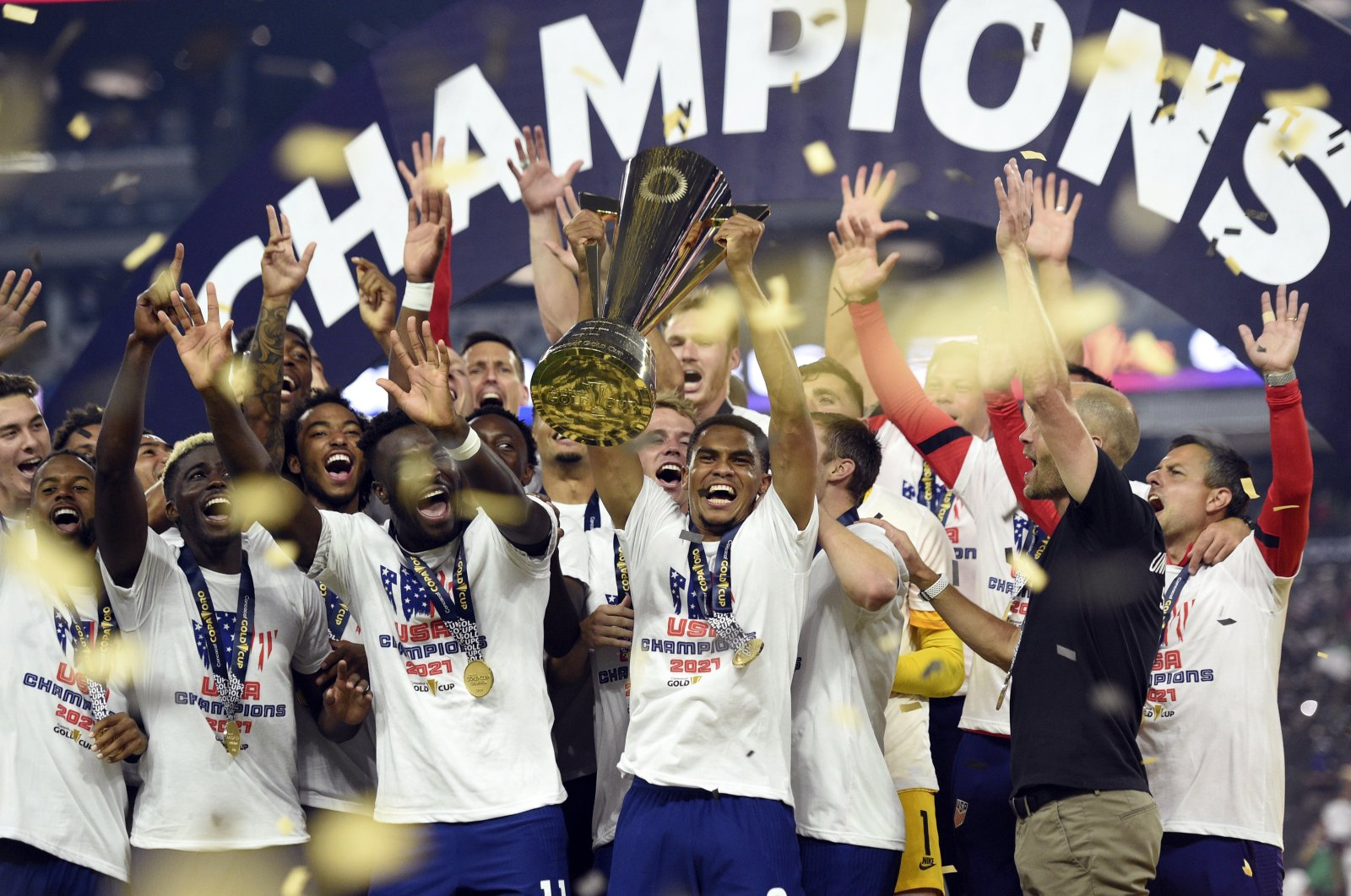 US clinches CONCACAF Gold Cup with extra-time win over Mexico