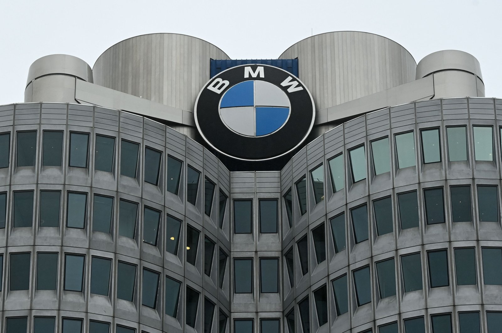 The headquarters of German carmaker BMW in Munich, southern Germany, March 15, 2021. (AFP Photo)