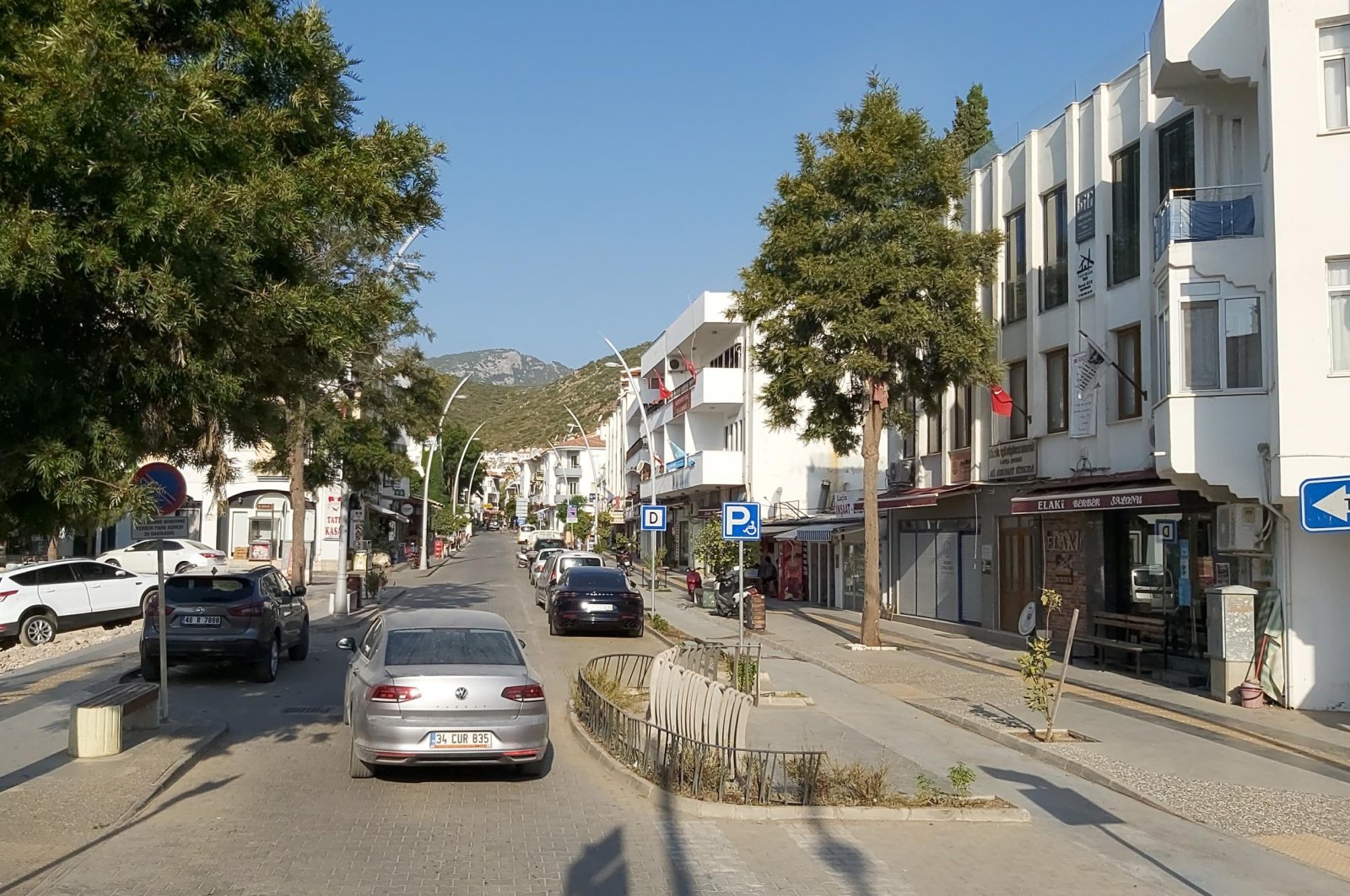 A view of Datça, in Muğla, southwestern Turkey, Aug. 1, 2021. (DHA PHOTO)