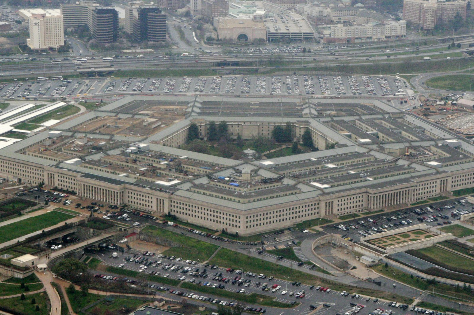 This March 27, 2008, file photo shows the Pentagon in Arlington County, Virginia, U.S. (AP Photo)