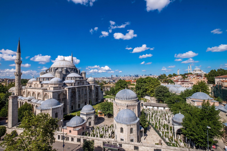 Shehzade Mosque, in the Eminönü district, Istanbul, Turkey, July 24, 2018. (Shuttershock)