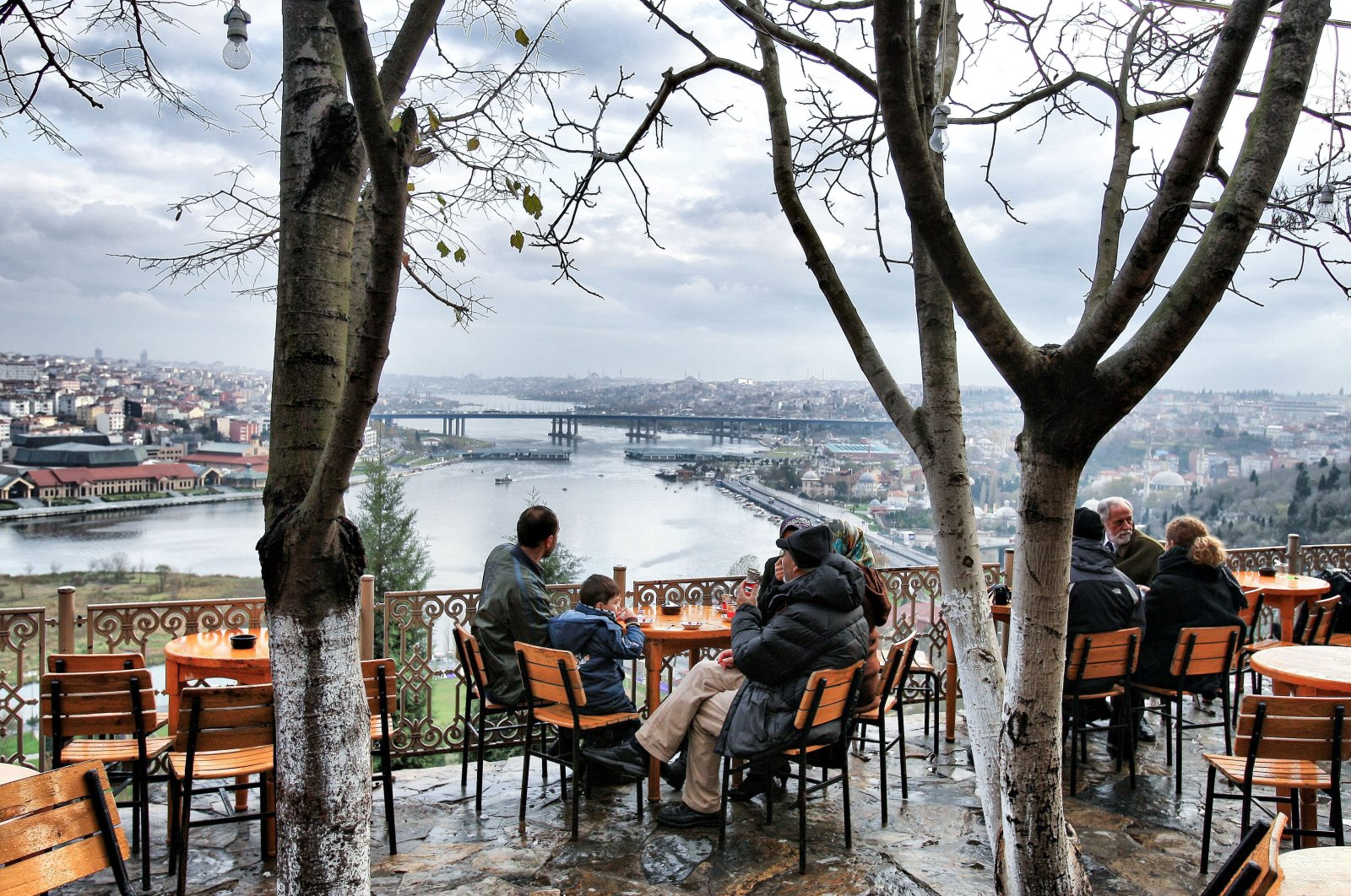Pierre Loti Hill, in the Eyüp district, Istanbul, Turkey, Dec. 14, 2010. (Sabah File Photo)