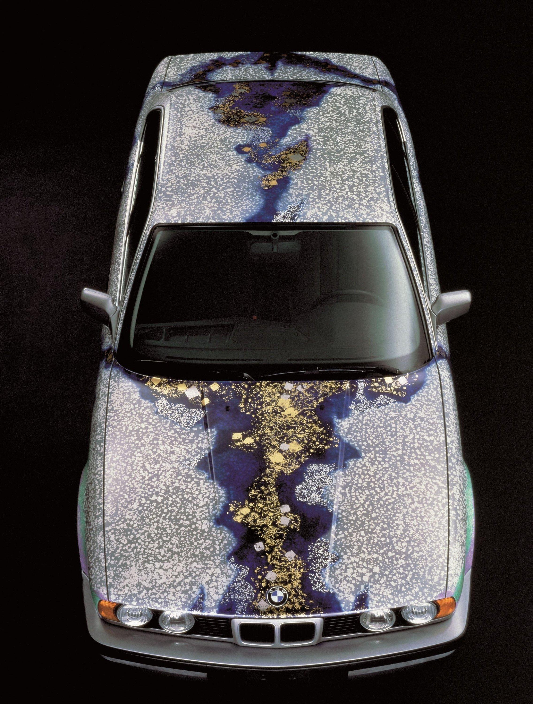 This BMW 535i was designed by the painter Matazo Kayama. (DPA Photo)
