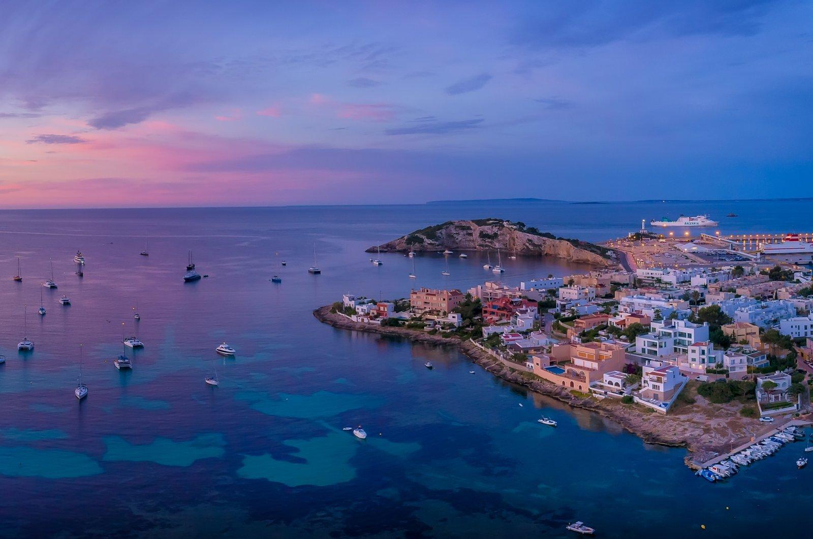 General view of Ibiza Island. (Shutterstock Photo)