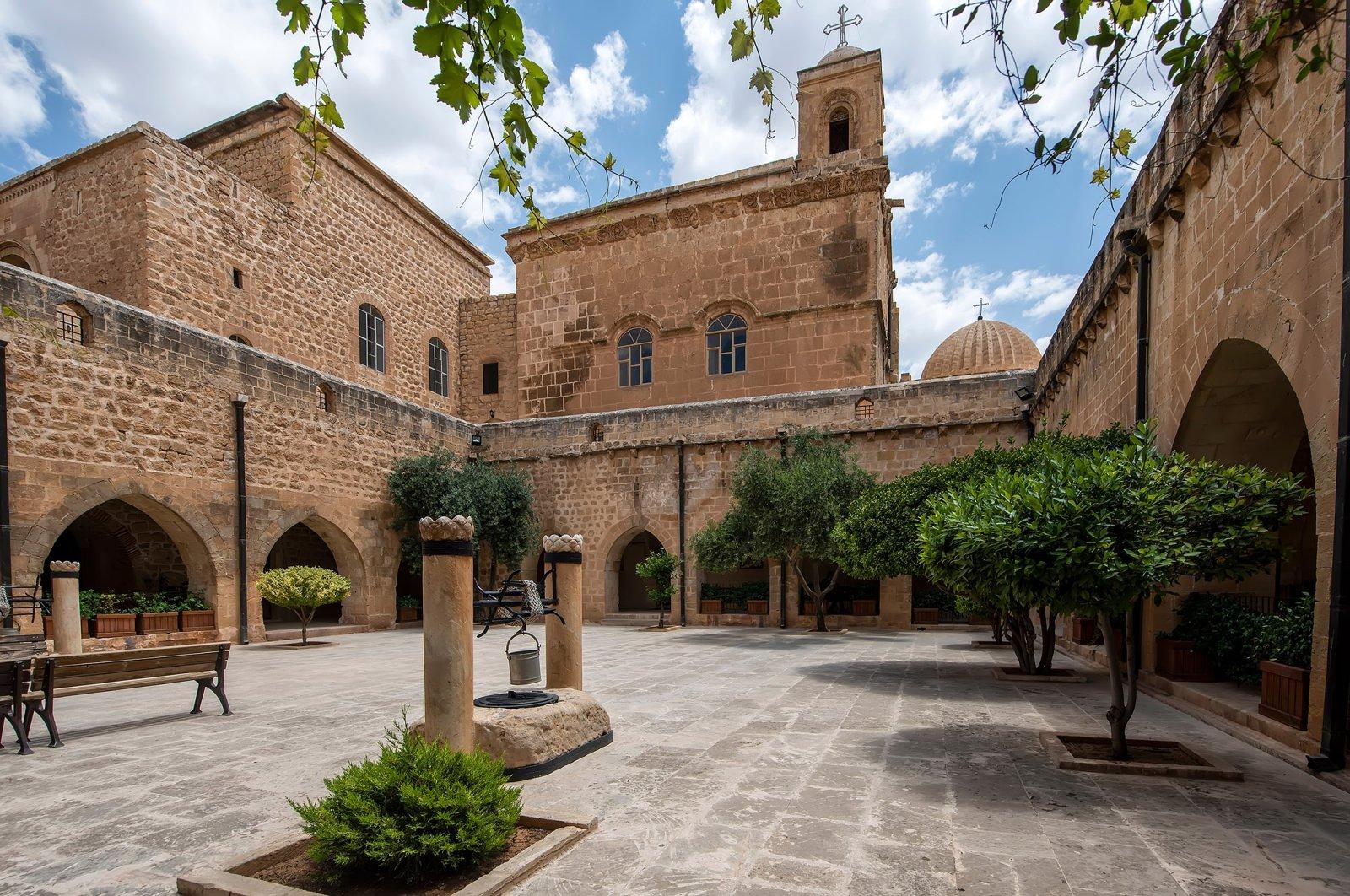 Deyrul Zafaran monastery in Mardin. (Shutterstock Photo)