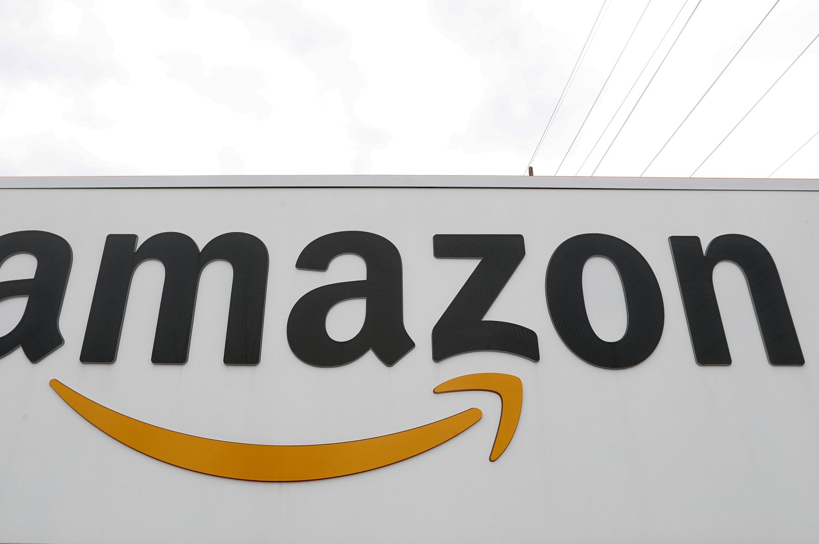 The Amazon DTW1 fulfillment center is shown in Romulus, Michigan, U.S., April 1, 2020. (AP Photo)