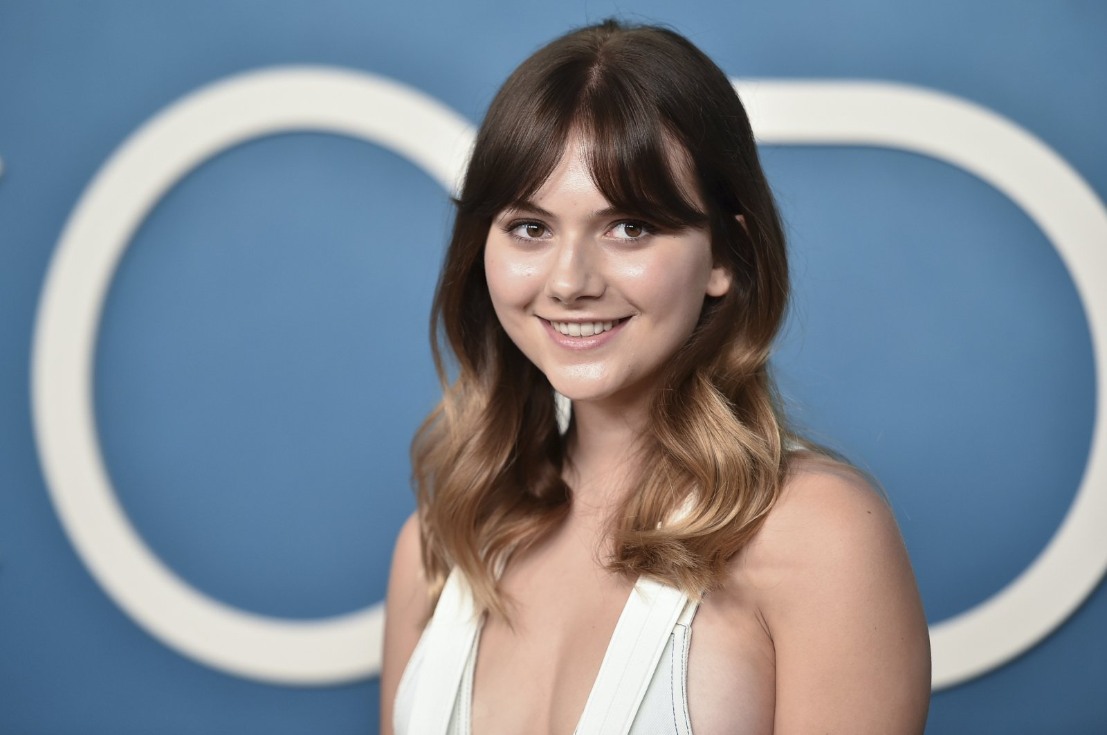 """Emilia Jones attends a photocall for """"CODA"""" at the London Hotel in West Hollywood, California, U.S., July 30, 2021. (AP Photo)"""