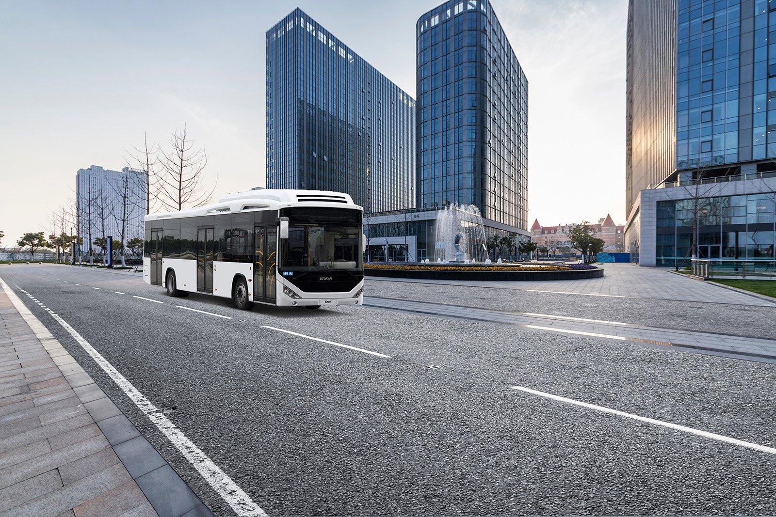An Otokar-made city bus is seen in this undated file photo. (Courtesy of Otokar)