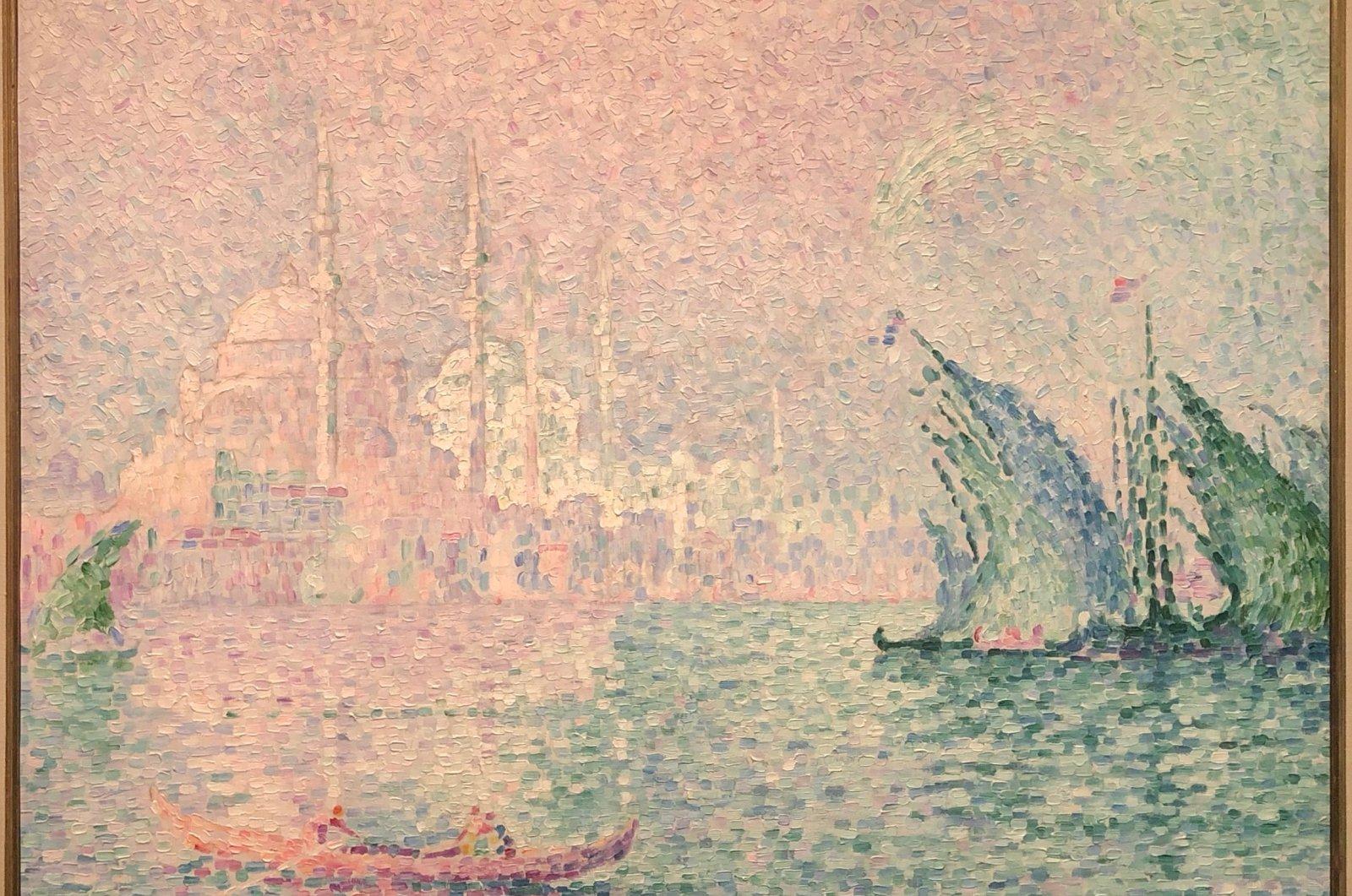 "Paul Signac, ""New Mosque,"" 1909. (Courtesy of Wallraf Richartz Museum)"