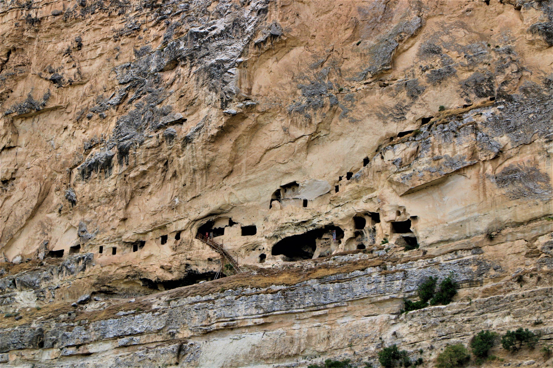 Vista de las cámaras de la cueva en Tunseli, Turquía oriental.  8, 2021. (Foto İHA)