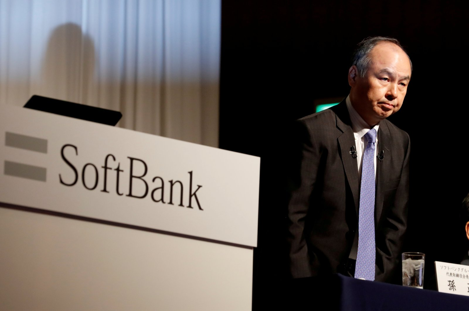 Japan's SoftBank Group Corp Chief Executive Masayoshi Son attends a news conference in Tokyo, Japan, Nov. 5, 2018. (Reuters Photo)