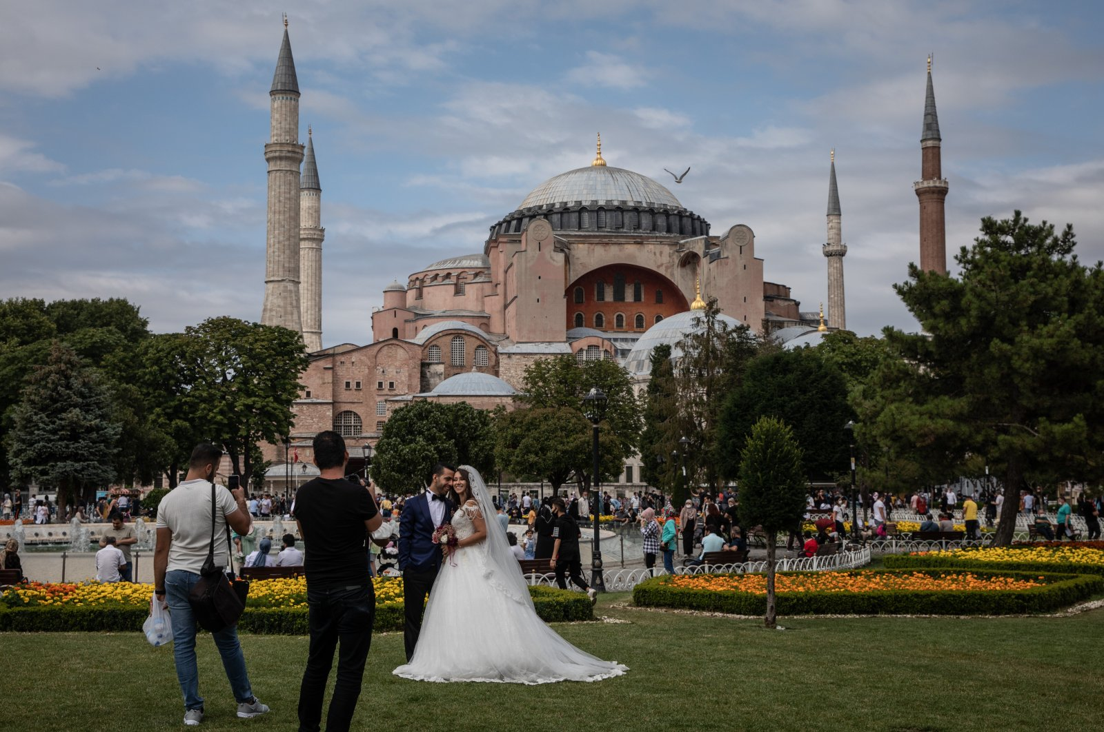 Traditional weddings in Turkey can last for days, especially in rural regions. (Getty Images)