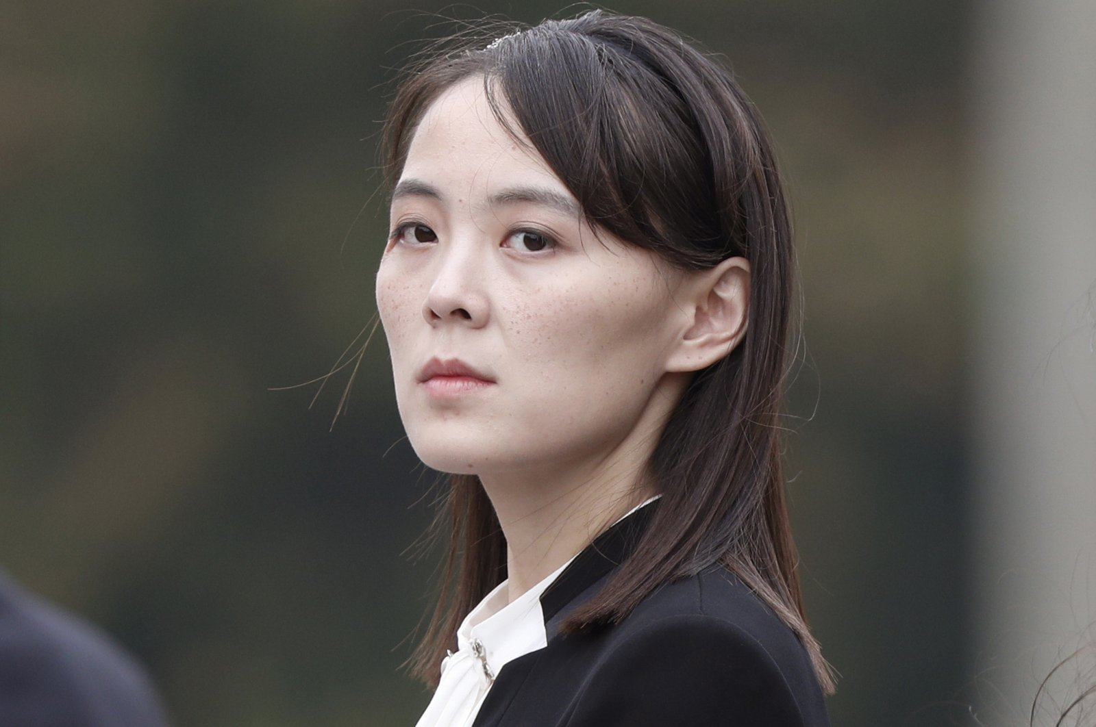 Kim Yo Jong, sister of North Korea's leader Kim Jong Un attends a wreath-laying ceremony at Ho Chi Minh Mausoleum in Hanoi, Vietnam, March 2, 2019. (AP Photo)