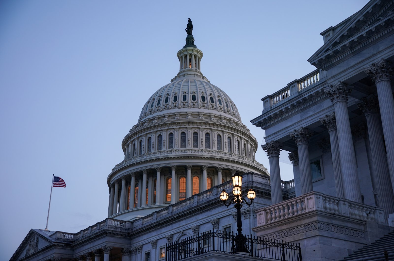 The exterior of the U.S. Capitol is seen in Washington, U.S., Aug. 8, 2021. (Reuters Photo)