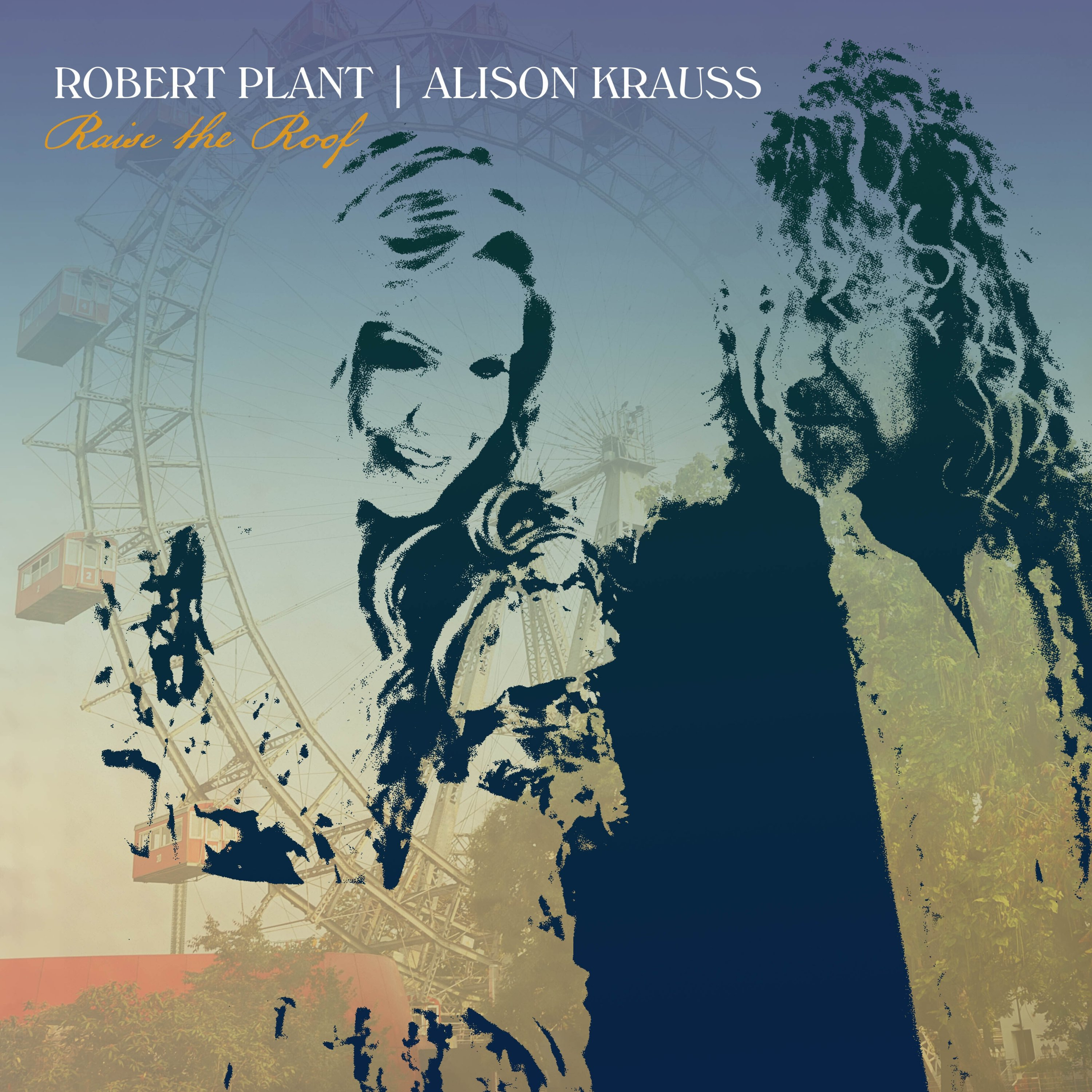 This album cover provided by Rounder Records shows 'Raise the Roof' by Robert Plant and Alison Krauss. (Rounder Records via AP)